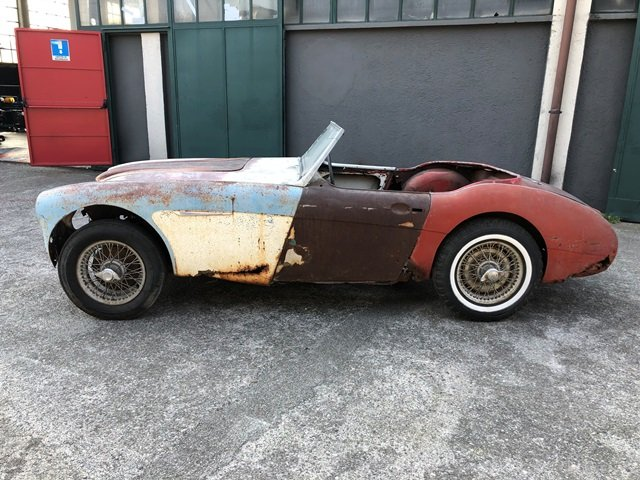 1957 Austin Healey - 100/6 BN4 project car For Sale (picture 2 of 6)
