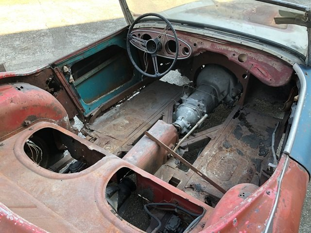 1957 Austin Healey - 100/6 BN4 project car For Sale (picture 3 of 6)