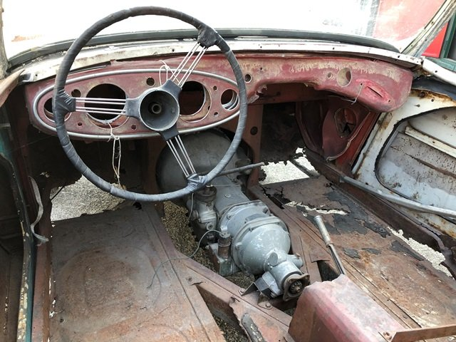 1957 Austin Healey - 100/6 BN4 project car For Sale (picture 4 of 6)
