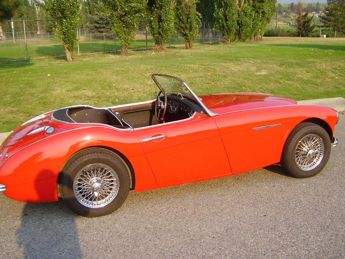 1961 Austin Healey Mark two, tri-carb with centre shift For Sale (picture 3 of 6)