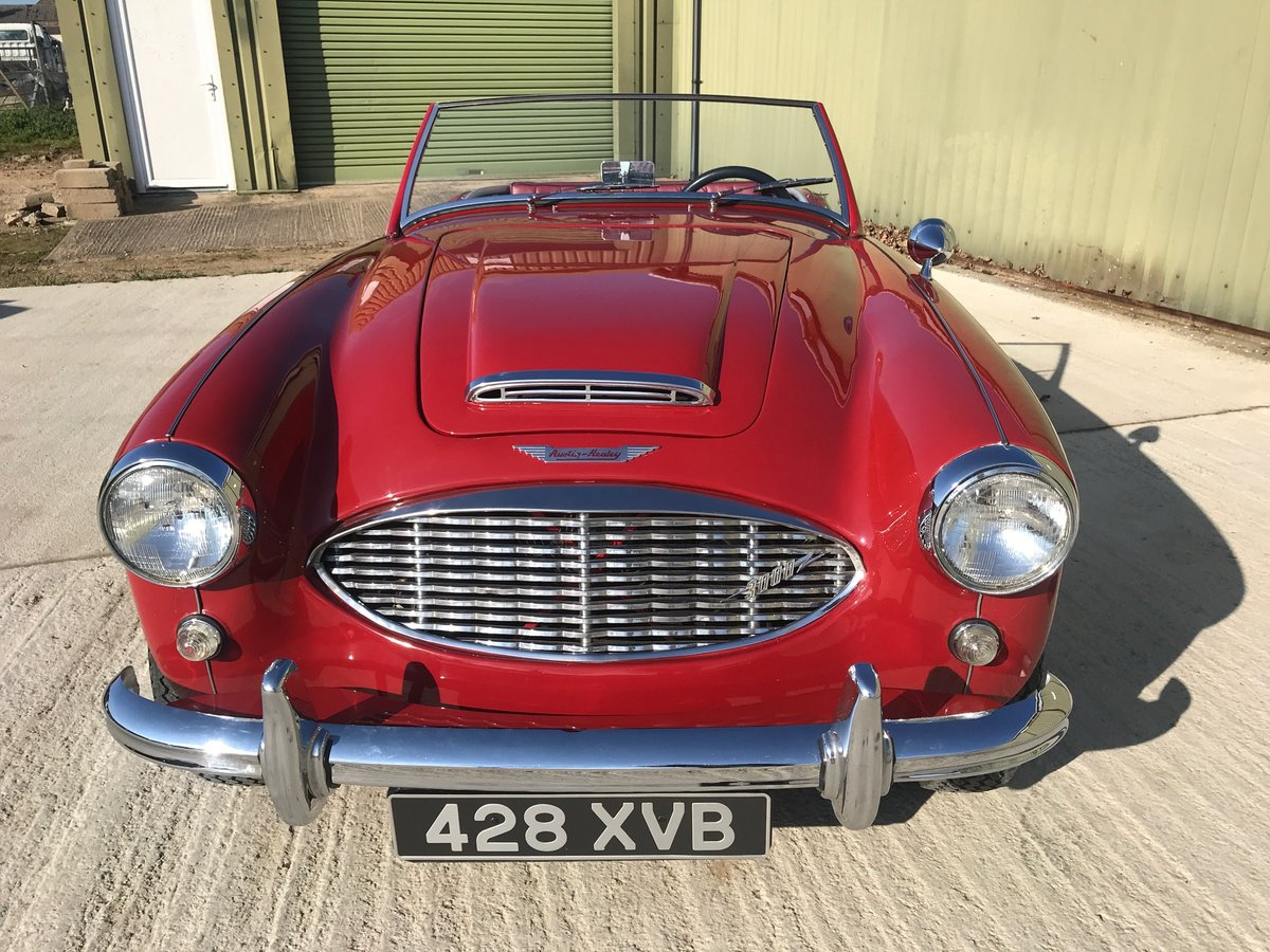1960 Austin Healey 3000 MK1 Fully restored LHD UK reg. For Sale (picture 3 of 6)