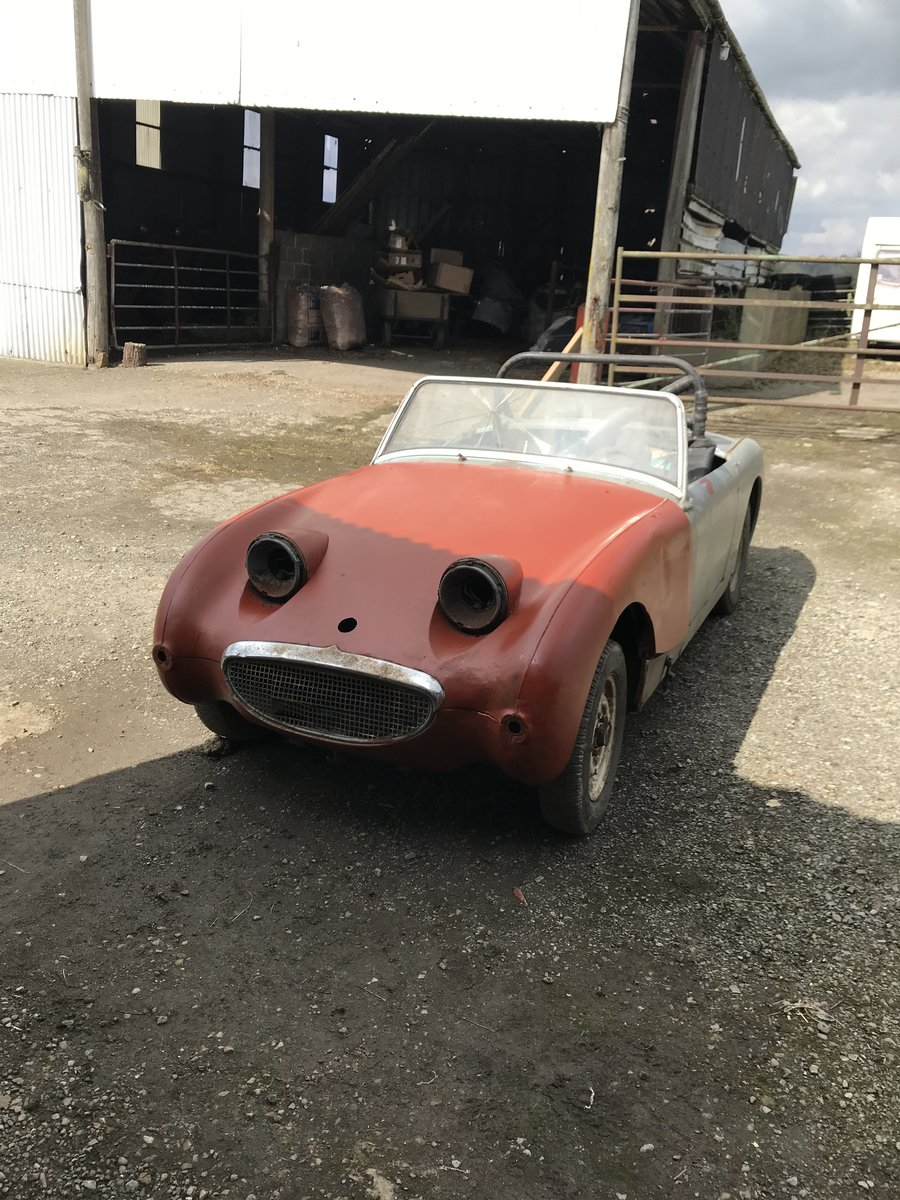 1960 Austin Healey Frogeye Sprite SOLD (picture 1 of 6)