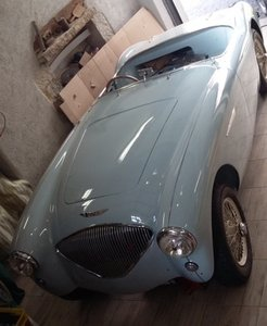 COMING SOON-EARLY WARWICK REGISTERED 1953 AUSTIN HEALEY 100 For Sale