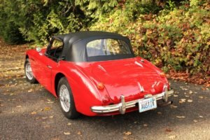 1966 Austin Healey 3000 MK III BJ 8 = LHD Solid Red Driver $59.9k For Sale (picture 2 of 6)