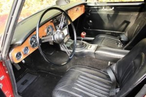 1966 Austin Healey 3000 MK III BJ 8 = LHD Solid Red Driver $59.9k For Sale (picture 4 of 6)