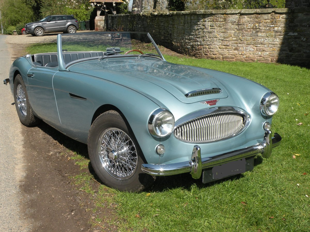 1961 Uniquely restored LHD Healey 3000 BT7 For Sale (picture 1 of 6)