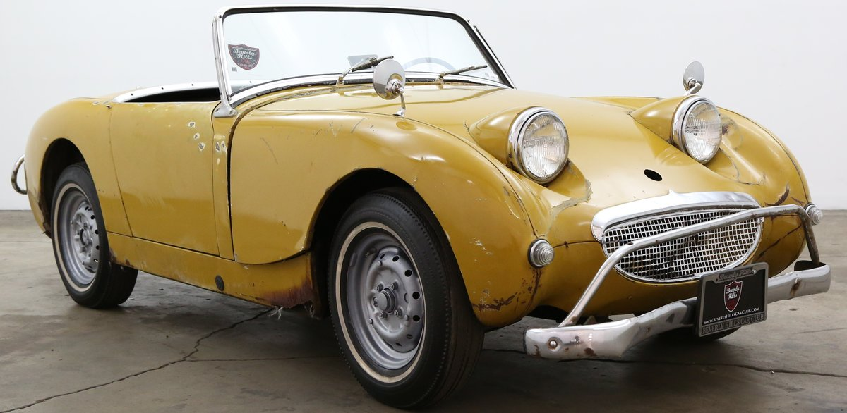 1960 Austin Healey Frogeye Sprite solid LHD Project For Sale (picture 1 of 6)