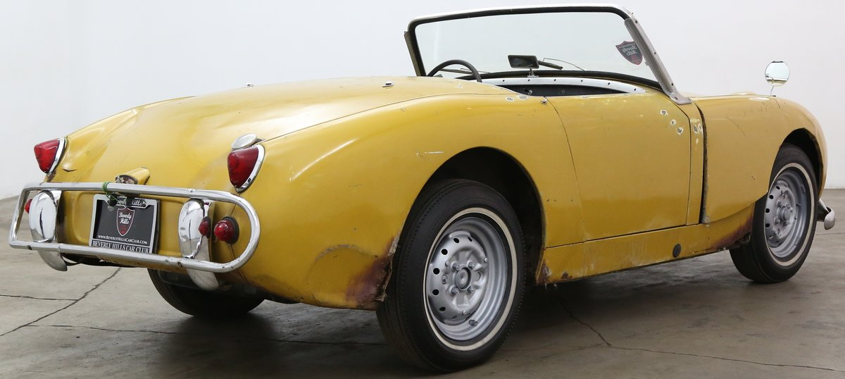 1960 Austin Healey Frogeye Sprite solid LHD Project For Sale (picture 2 of 6)