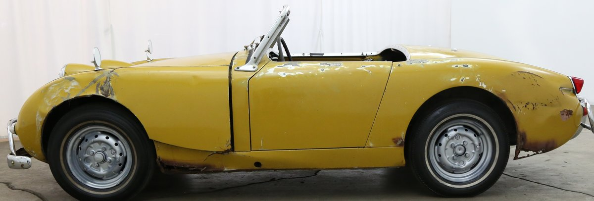 1960 Austin Healey Frogeye Sprite solid LHD Project For Sale (picture 3 of 6)