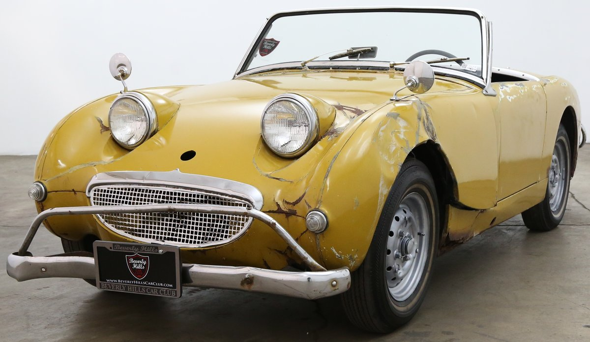 1960 Austin Healey Frogeye Sprite solid LHD Project For Sale (picture 4 of 6)