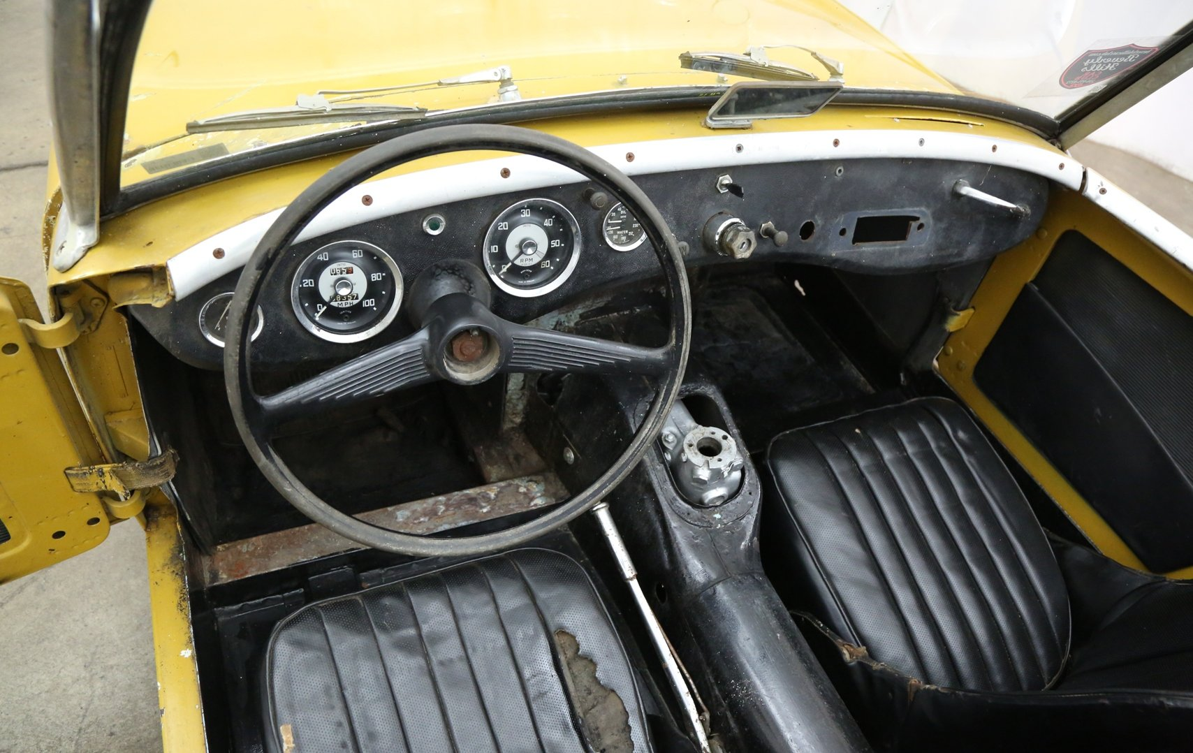 1960 Austin Healey Frogeye Sprite solid LHD Project For Sale (picture 5 of 6)