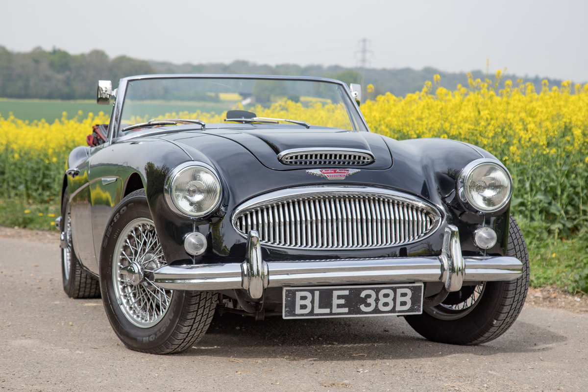 1964 Austin Healey 3000 MkIII | Rare Early Phase II, UK RHD For Sale (picture 1 of 6)