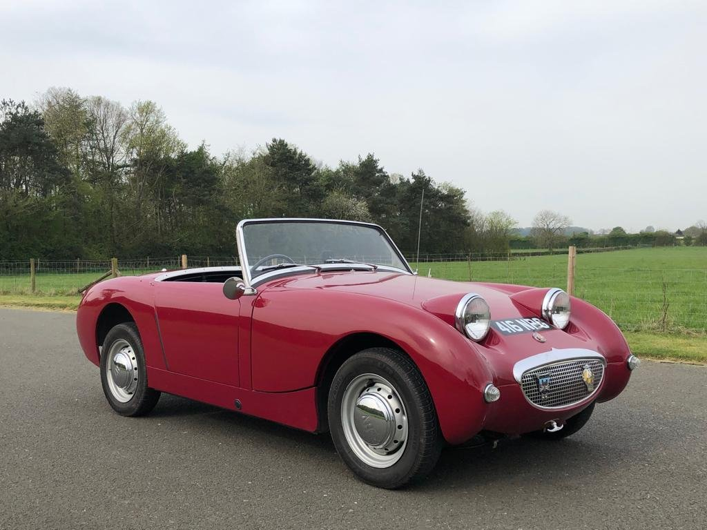 1960 Austin Healey Frogeye Sprite MK I SOLD (picture 3 of 6)