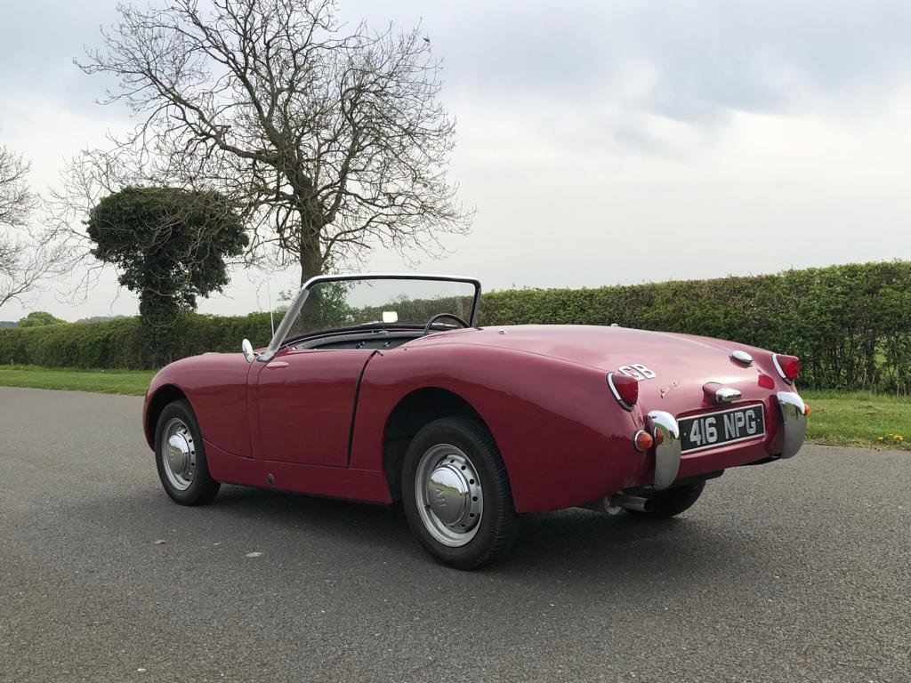 1960 Austin Healey Frogeye Sprite MK I SOLD (picture 4 of 6)