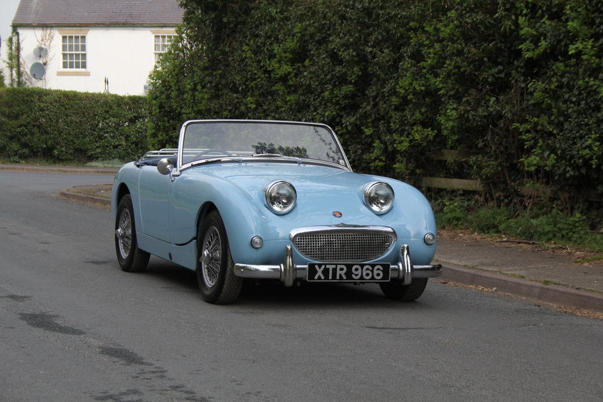 1959 Austin Healey Frogeye Sprite, UK car, superb spec For Sale (picture 1 of 12)