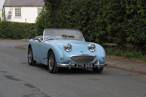 1959 Austin Healey Frogeye Sprite, UK car, superb spec For Sale