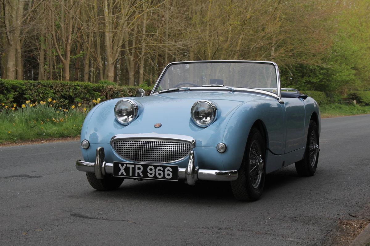 1959 Austin Healey Frogeye Sprite, UK car, superb spec For Sale (picture 2 of 12)