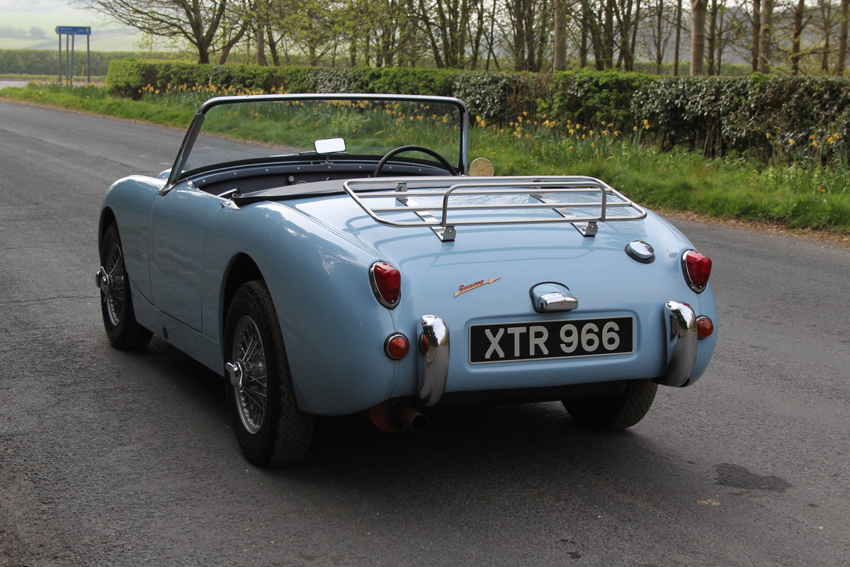 1959 Austin Healey Frogeye Sprite, UK car, superb spec For Sale (picture 3 of 12)