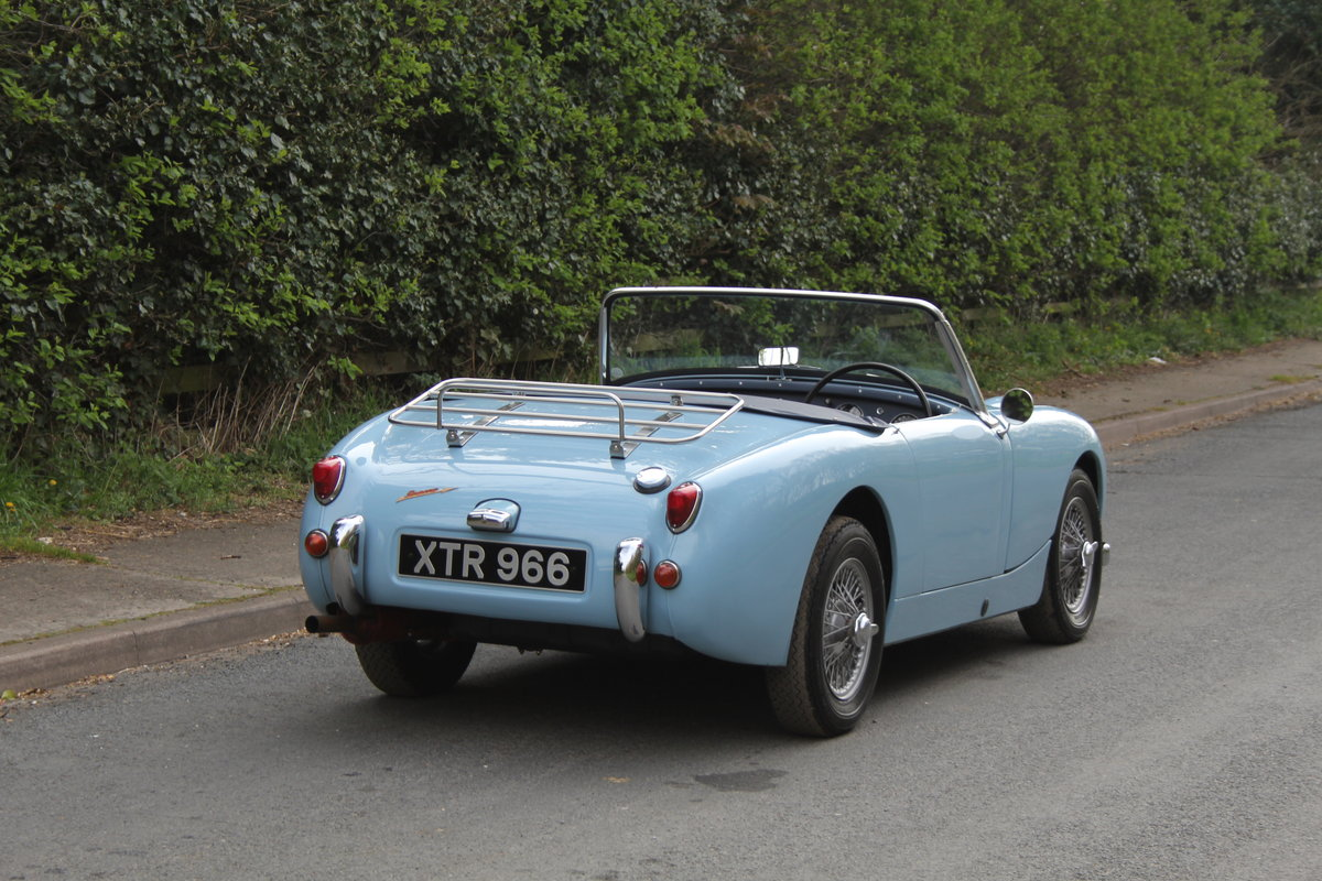 1959 Austin Healey Frogeye Sprite, UK car, superb spec For Sale (picture 4 of 12)