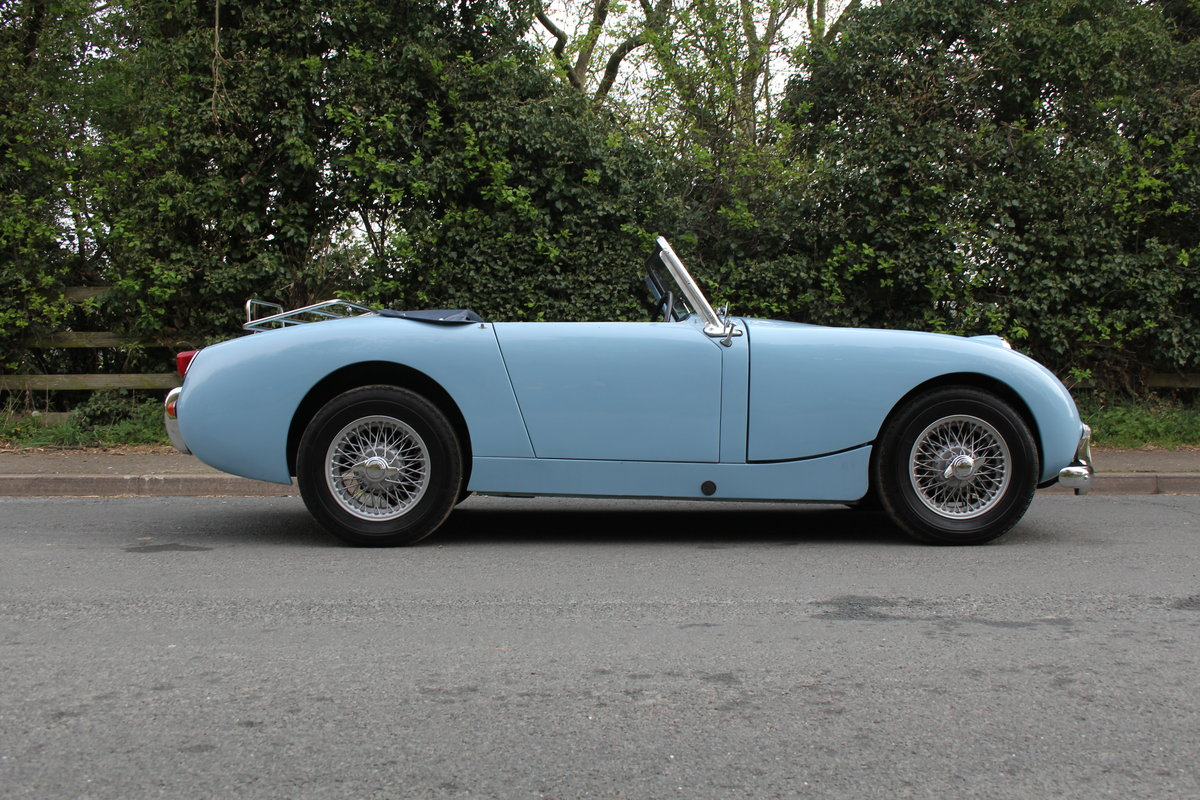 1959 Austin Healey Frogeye Sprite, UK car, superb spec For Sale (picture 5 of 12)