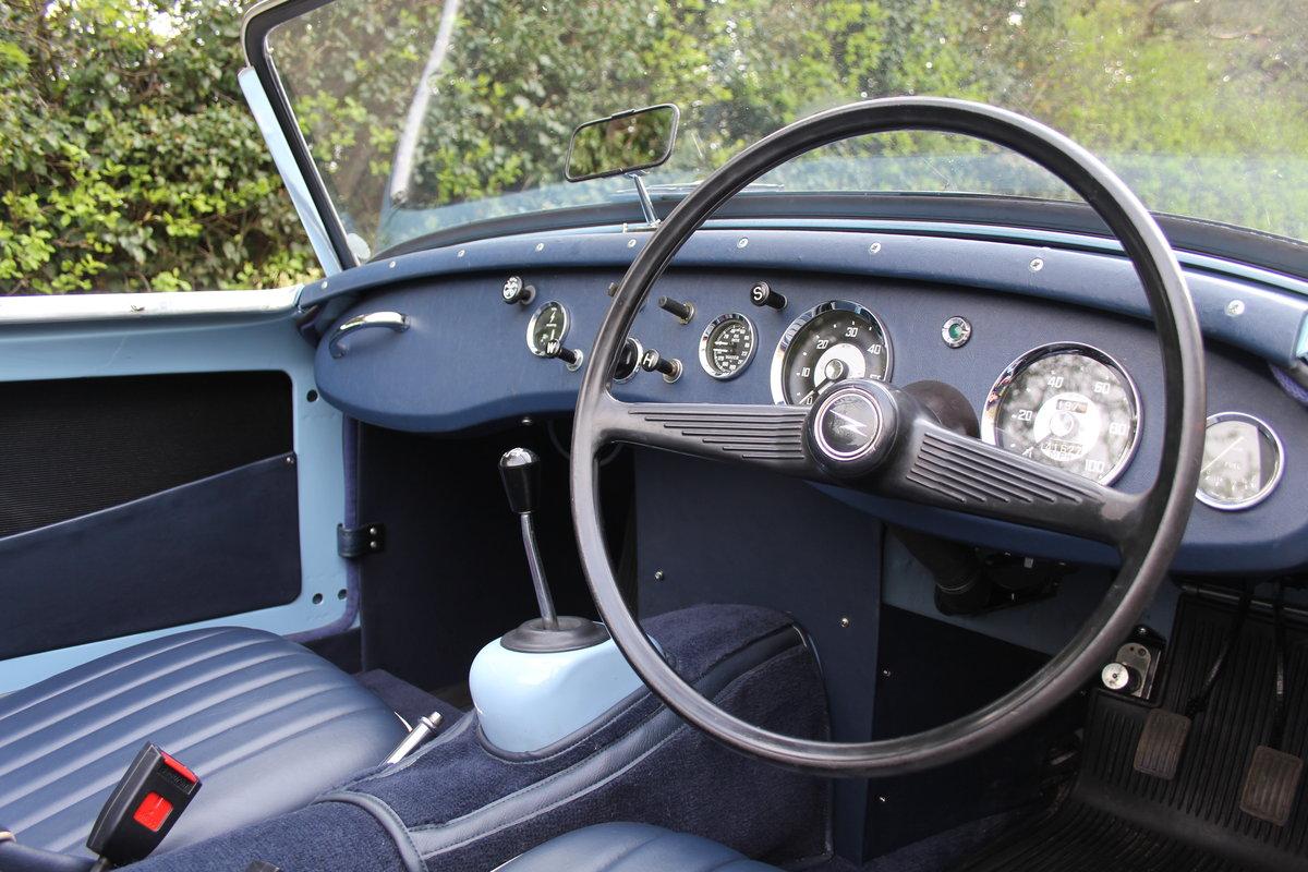 1959 Austin Healey Frogeye Sprite, UK car, superb spec For Sale (picture 6 of 12)