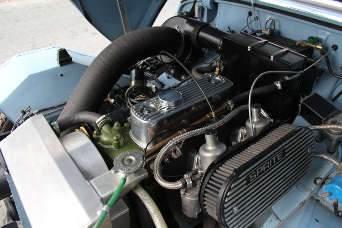 1959 Austin Healey Frogeye Sprite, UK car, superb spec For Sale (picture 11 of 12)