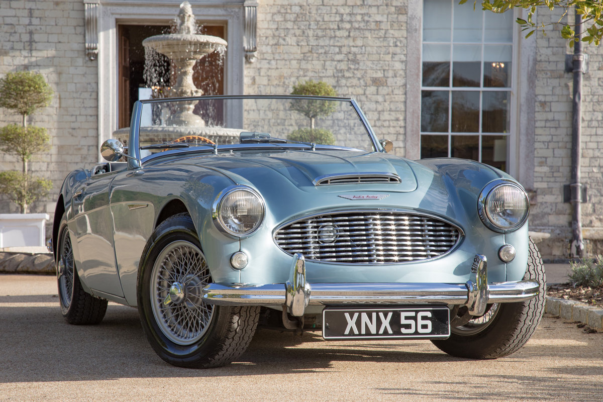 1957 Austin Healey 100/6S | One of 50 'S' Models, Modified New SOLD (picture 1 of 6)