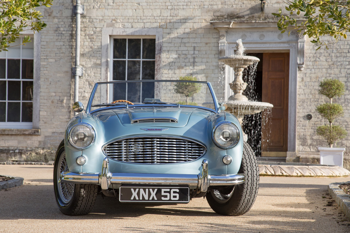 1957 Austin Healey 100/6S | One of 50 'S' Models, Modified New SOLD (picture 2 of 6)