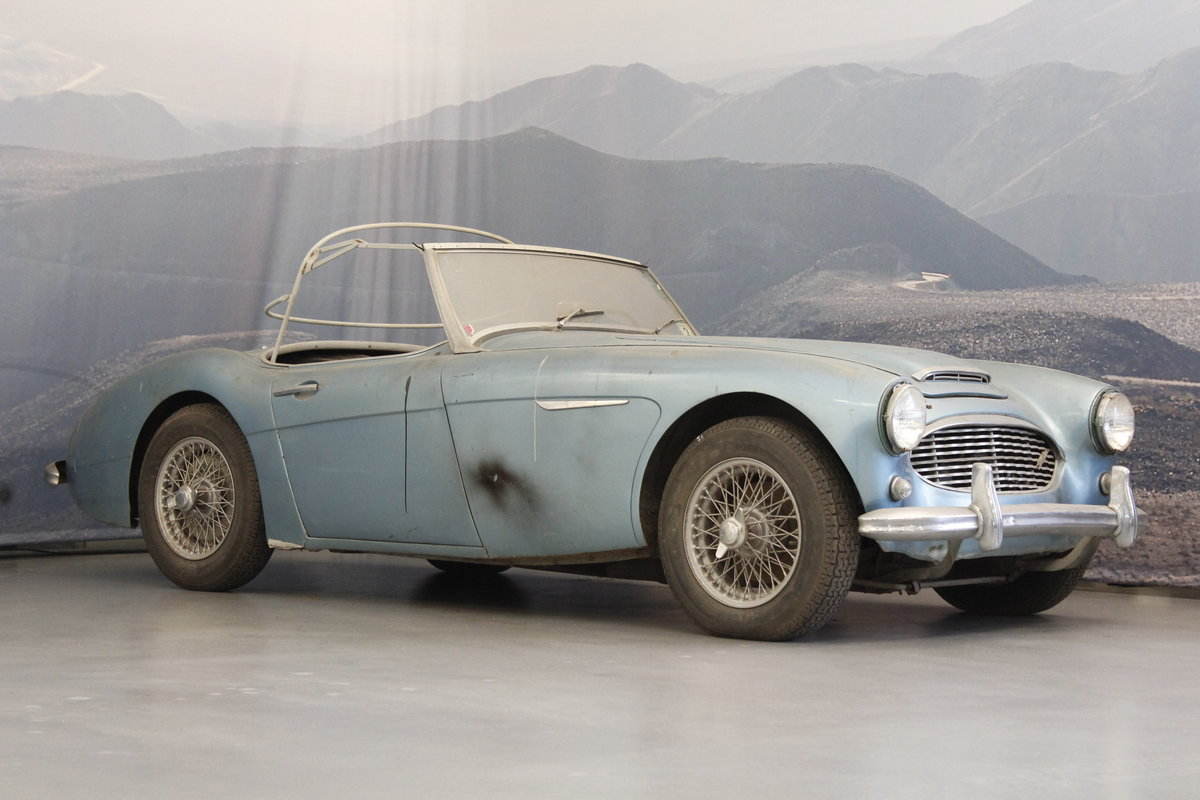 1960 Austin Healey 3000 Restoration Projekt For Sale (picture 1 of 6)