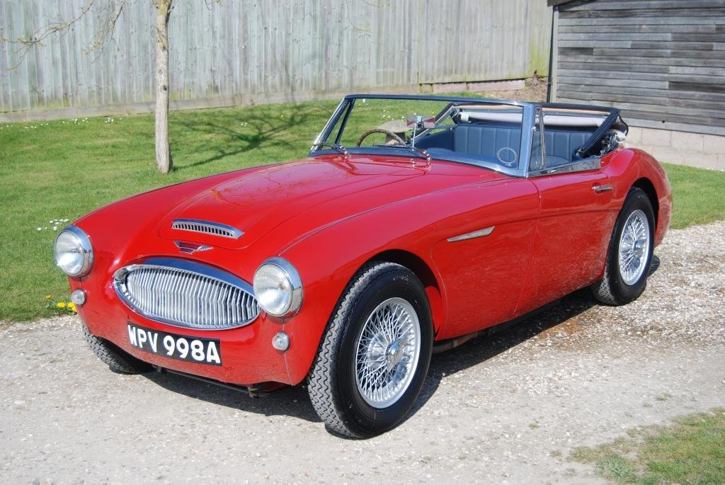 1963 Austin-Healey 3000 MkII BJ7, Restored, Heritage Certificate For Sale (picture 1 of 6)