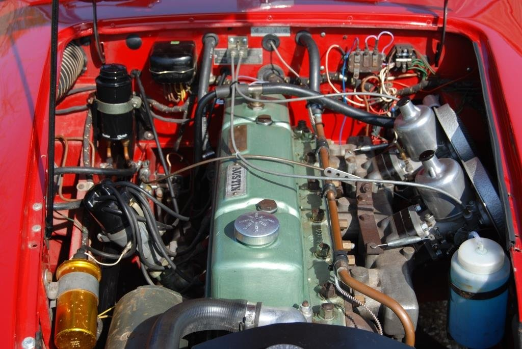 1963 Austin-Healey 3000 MkII BJ7, Restored, Heritage Certificate For Sale (picture 3 of 6)