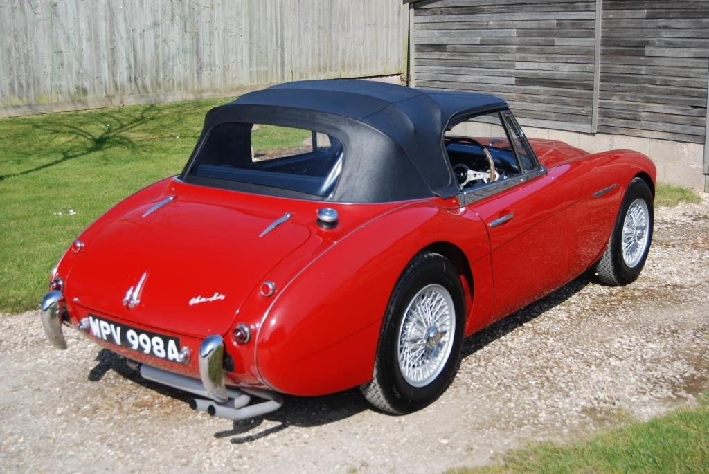 1963 Austin-Healey 3000 MkII BJ7, Restored, Heritage Certificate For Sale (picture 6 of 6)