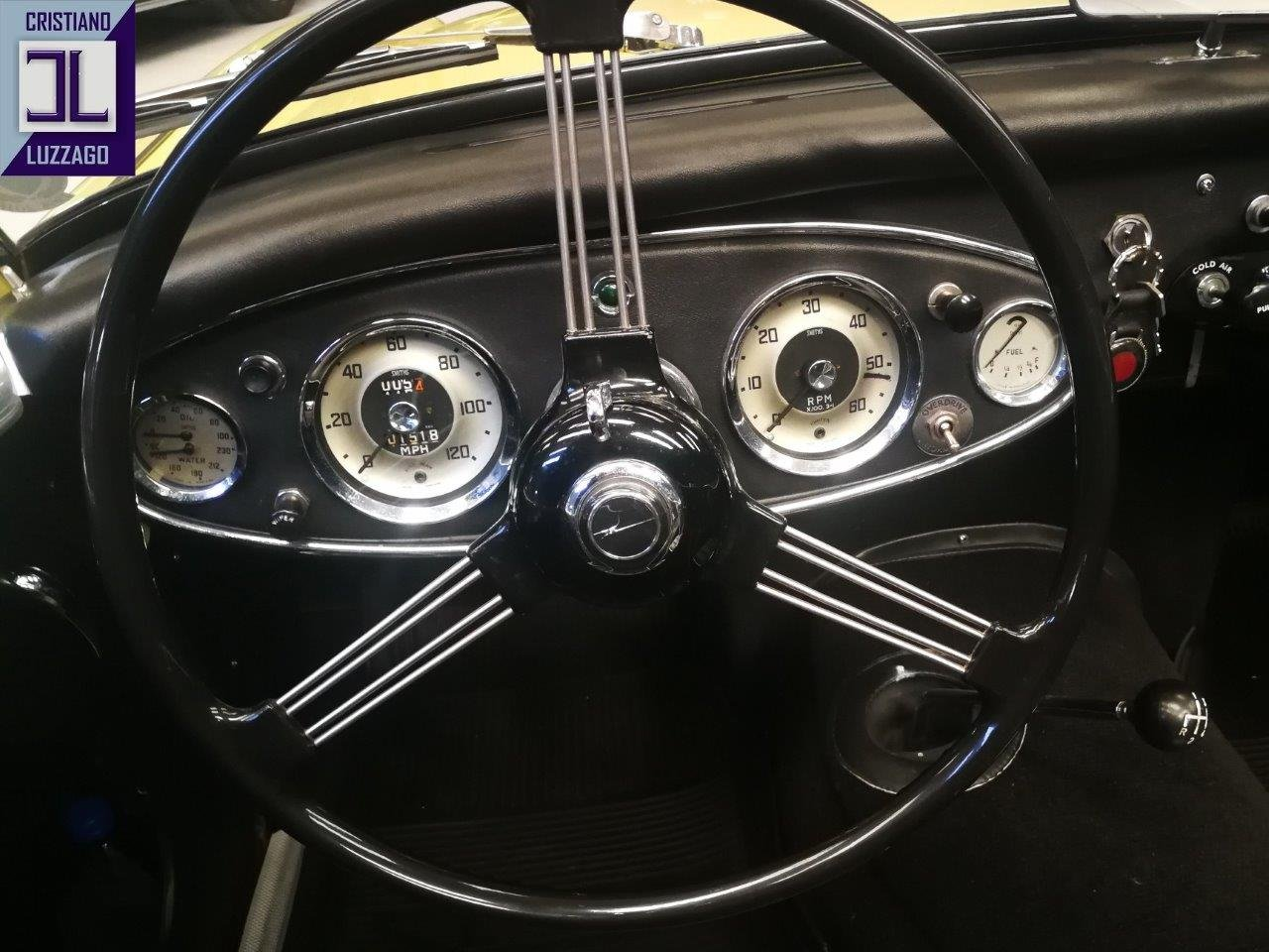 1960 AUSTIN HEALEY 3000 MK1 4 SEATER For Sale (picture 5 of 6)