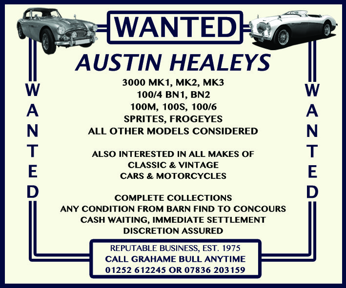 WANTED! AUSTIN HEALEY Wanted (picture 1 of 1)
