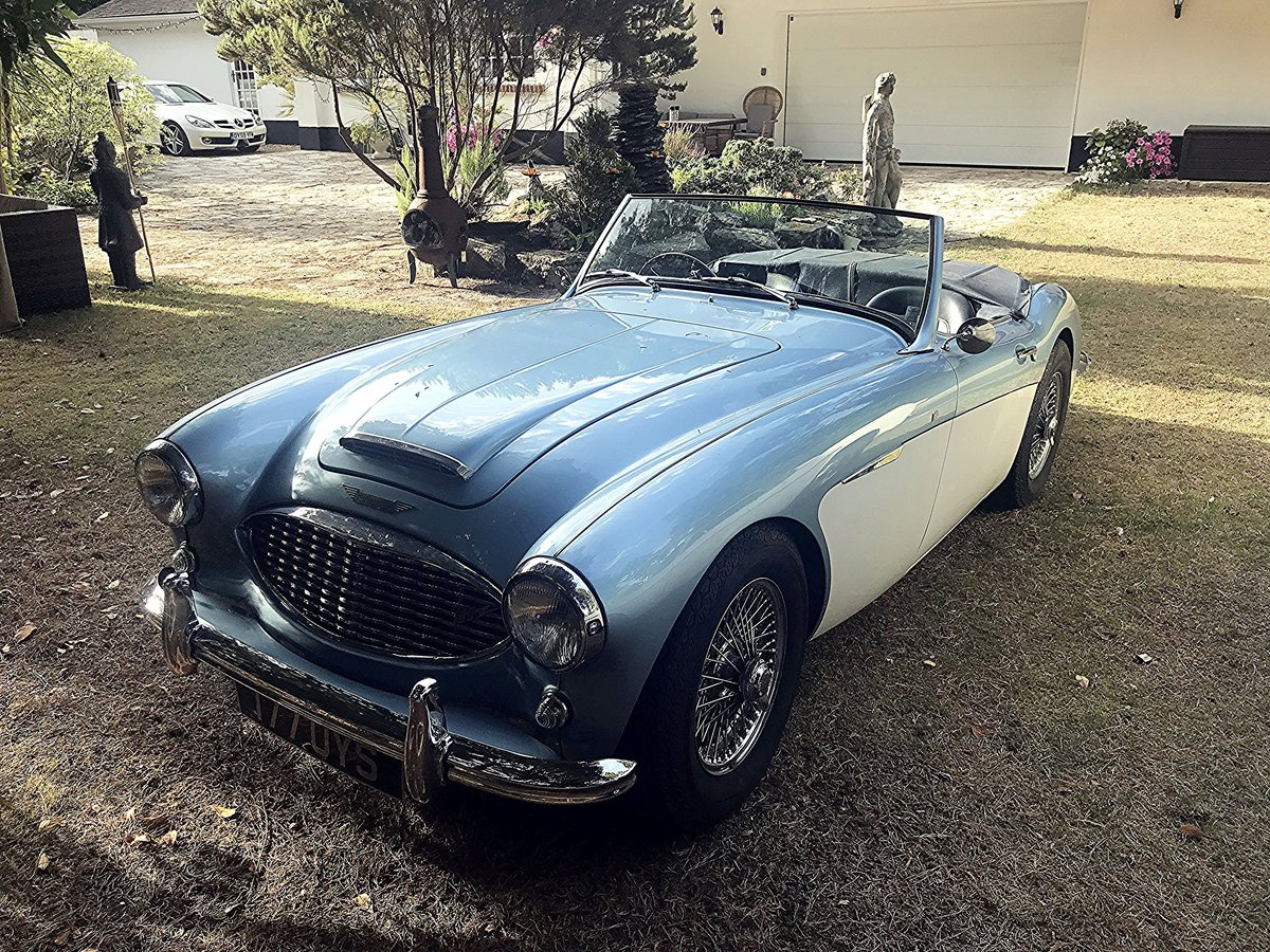 1956 AUSTIN HEALEY 100/6 SOLD (picture 1 of 6)