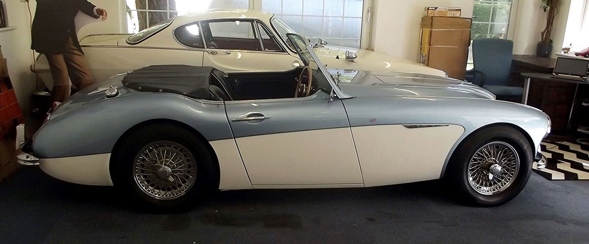 1956 AUSTIN HEALEY 100/6 SOLD (picture 5 of 6)
