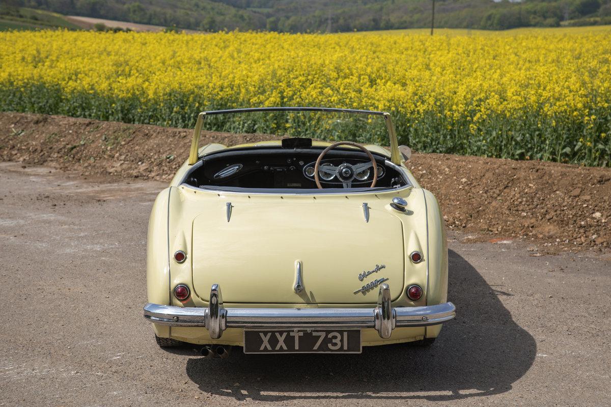 1959 Austin Healey 3000 MkI   Rare Primrose Yellow, UK RHD SOLD (picture 5 of 6)