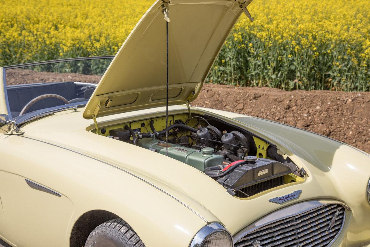 1959 Austin Healey 3000 MkI   Rare Primrose Yellow, UK RHD SOLD (picture 6 of 6)