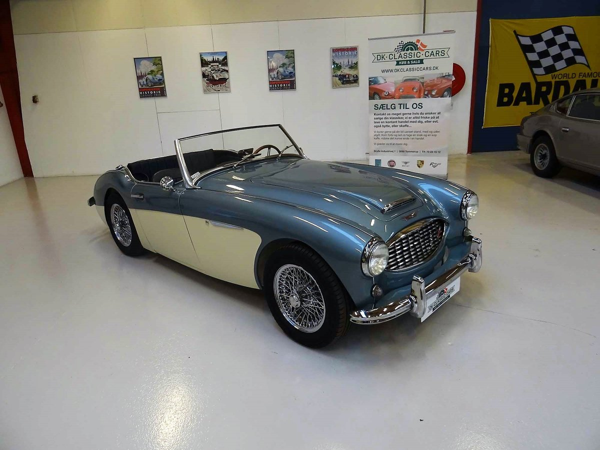 1960 Austin-Healey 3000 Mk I BT7, 4-seater For Sale (picture 1 of 6)