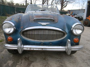 1965 Austin Healey 3000 MK3 BJ8 Project, Free Shipping  For Sale