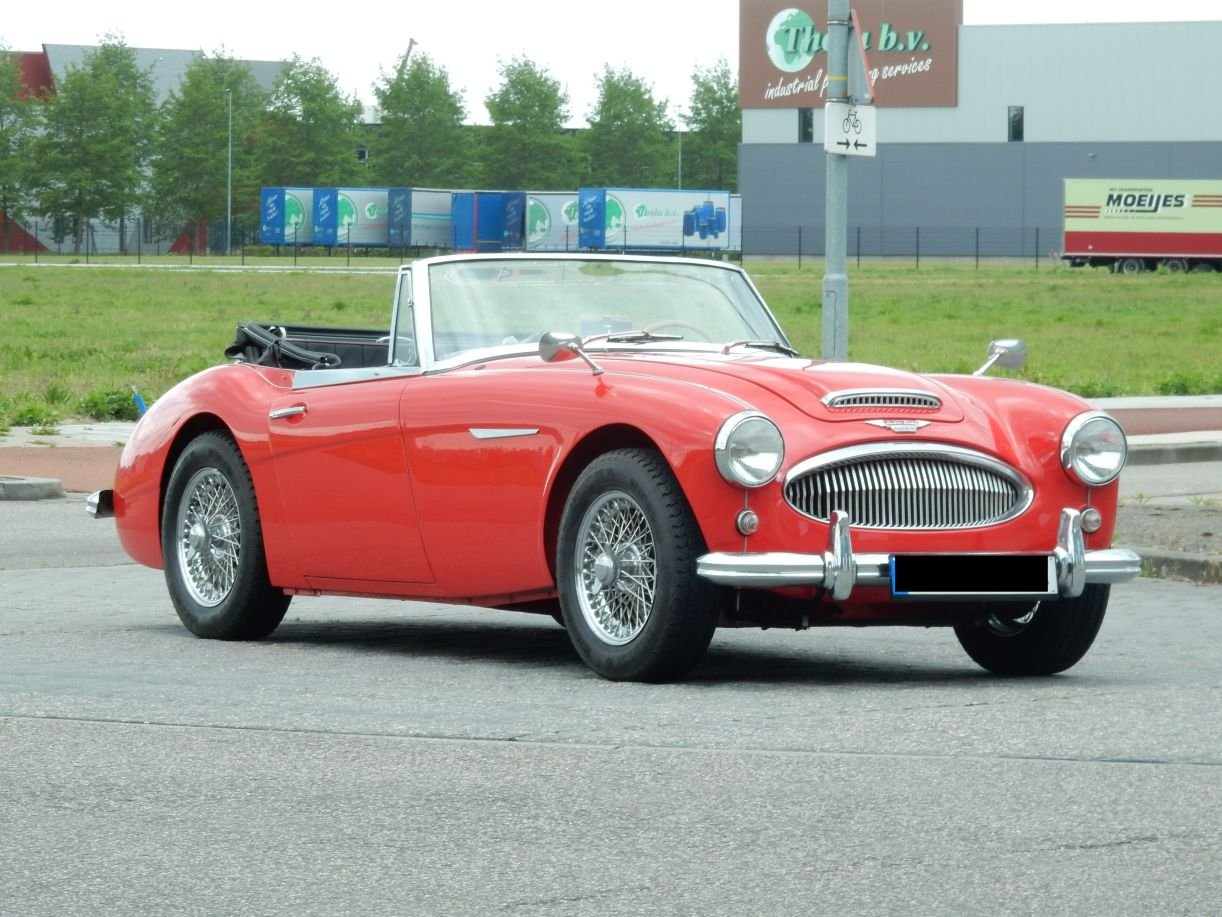 1963 Very nice Austin Healey 3000 Mk2 (BJ7) For Sale (picture 1 of 6)