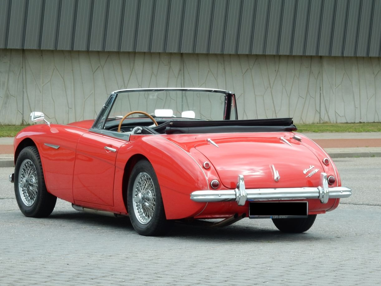 1963 Very nice Austin Healey 3000 Mk2 (BJ7) For Sale (picture 2 of 6)