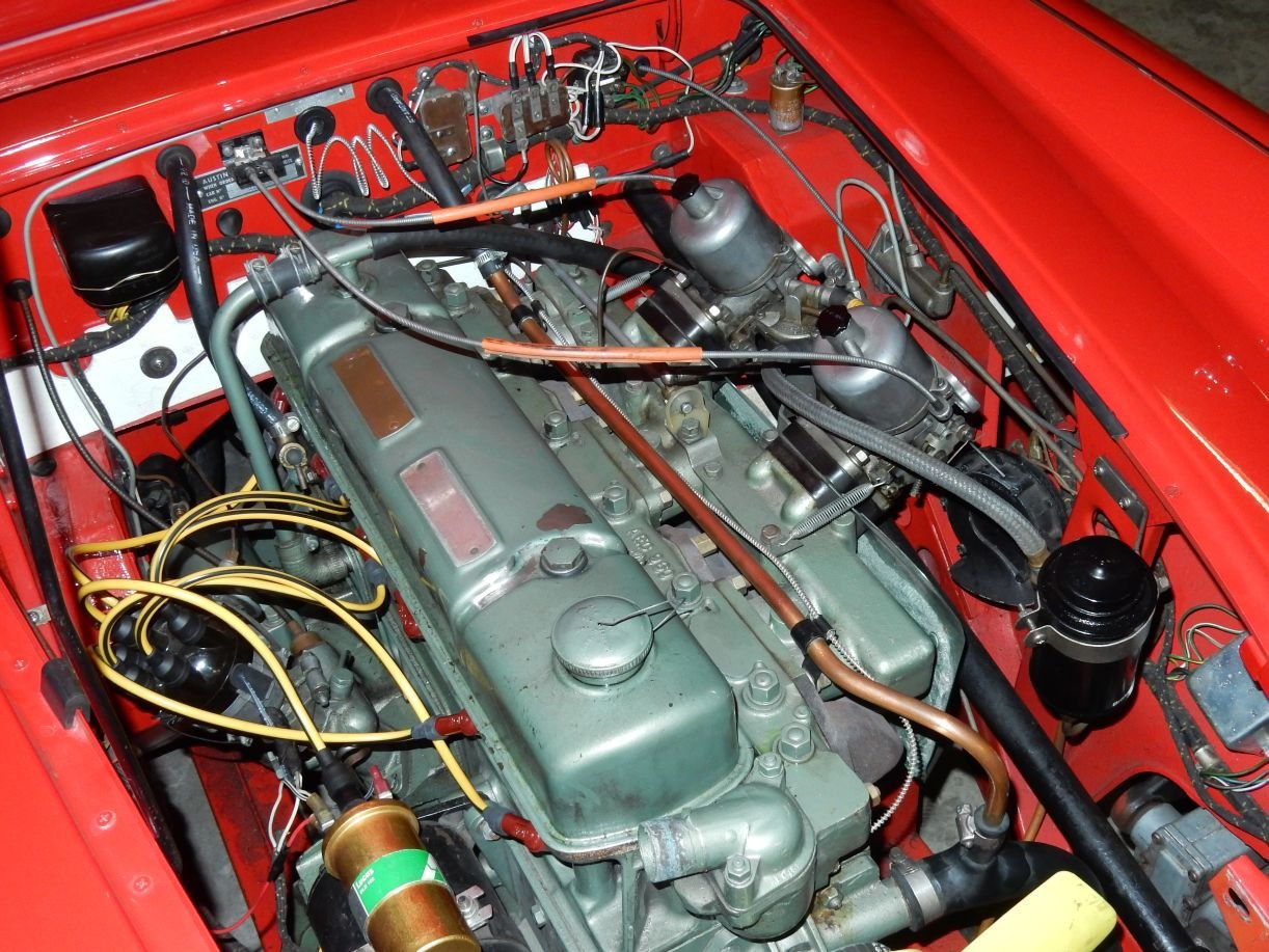 1963 Very nice Austin Healey 3000 Mk2 (BJ7) For Sale (picture 3 of 6)