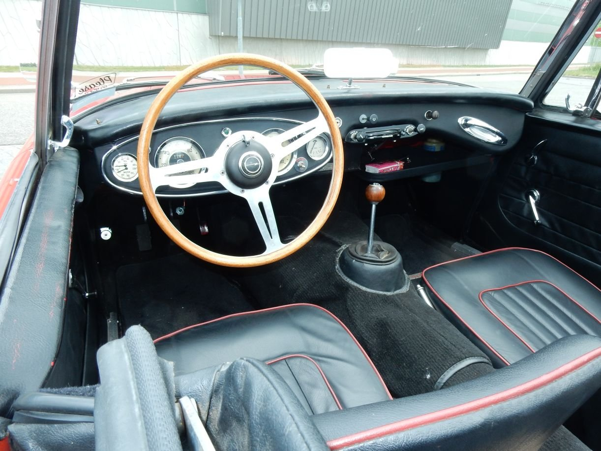 1963 Very nice Austin Healey 3000 Mk2 (BJ7) For Sale (picture 4 of 6)