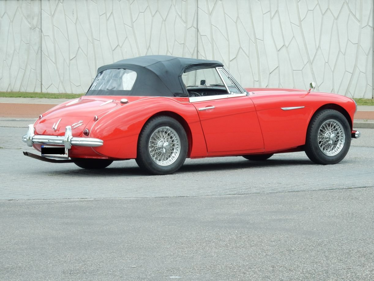 1963 Very nice Austin Healey 3000 Mk2 (BJ7) For Sale (picture 6 of 6)