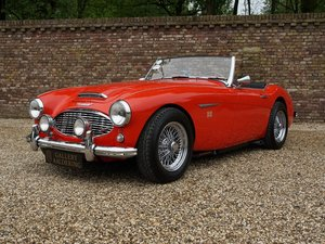 1957 Austin Healey 100-6 BN4 fully restored, long term ownership, For Sale