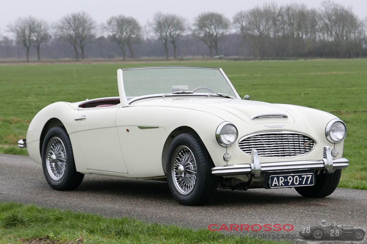 Austin Healey 100-6 1959 perfect restored, matching numbers! For Sale (picture 1 of 6)