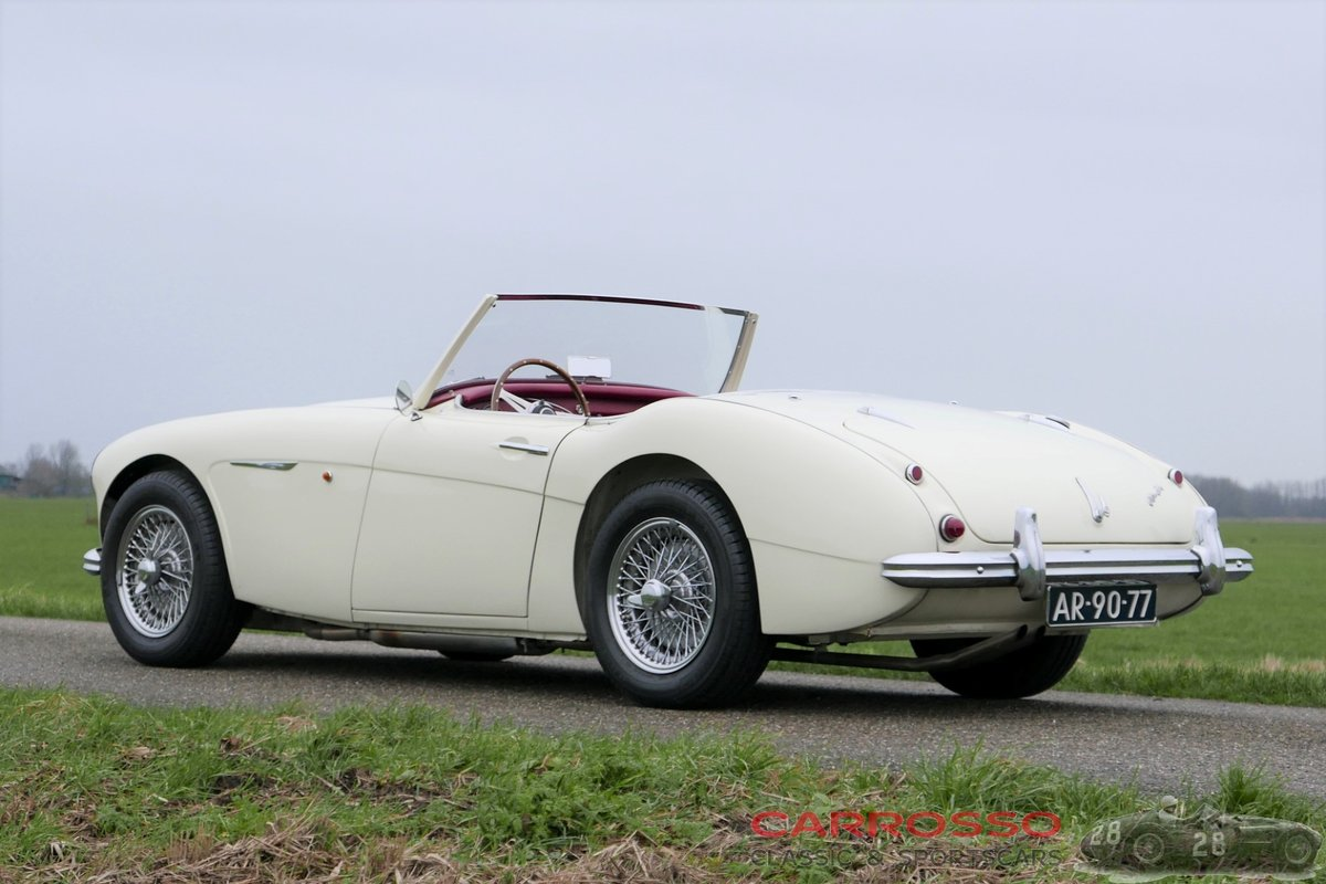 Austin Healey 100-6 1959 perfect restored, matching numbers! For Sale (picture 2 of 6)