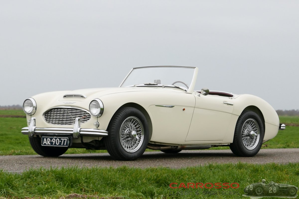 Austin Healey 100-6 1959 perfect restored, matching numbers! For Sale (picture 6 of 6)