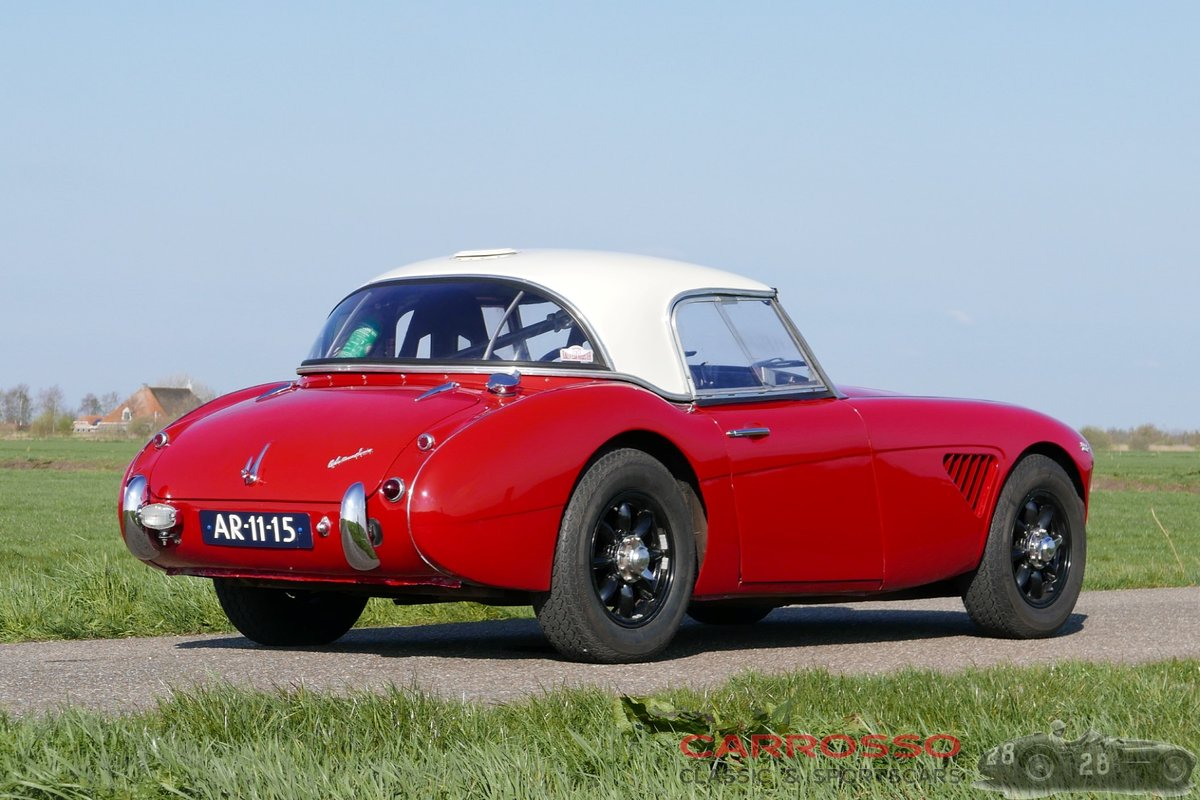 1958 Austin Healey 100-6 Fully rally prepared For Sale (picture 2 of 6)